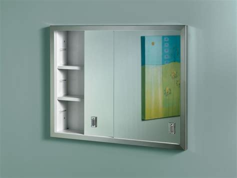 b703850x sliding door recesseded medicine cabinet