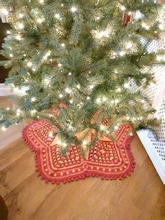 christmas tree fly pattern ravelry christmas tree skirt pattern pattern by kara gunza