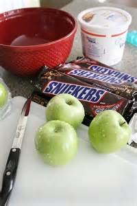 Snicker Apple Salad with Cool Whip