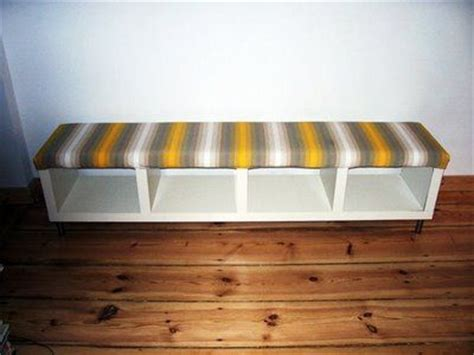 turn bookshelf into bench ikea bookshelf turned into bench elizabeth blake pinterest