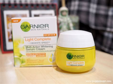 Serum Garnier Essence Review garnier light complete white speed 3 days program serum