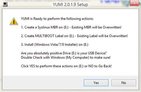cara membuat multi usb bootable dengan yumi cara membuat multiboot dengan flashdisk dengan aplikasi