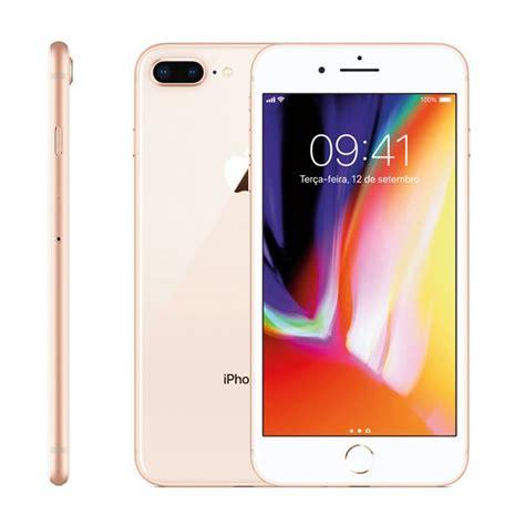 iphone 8 plus apple dourado 256 gb c 226 mera 12 mp em 12x taqi