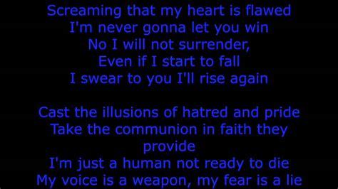 black veil brides in the mirror lyric in the mirror by black veil brides lyrics