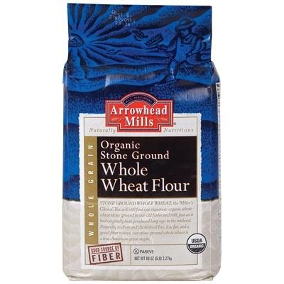 producers organic wheat flour millers stone ground arrowhead mills organic stone ground whole wheat flour 80