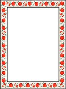 Border Paper Template by Ppt Garden August 2012