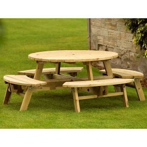 round picnic bench plans 1000 ideas about round picnic table on pinterest picnic
