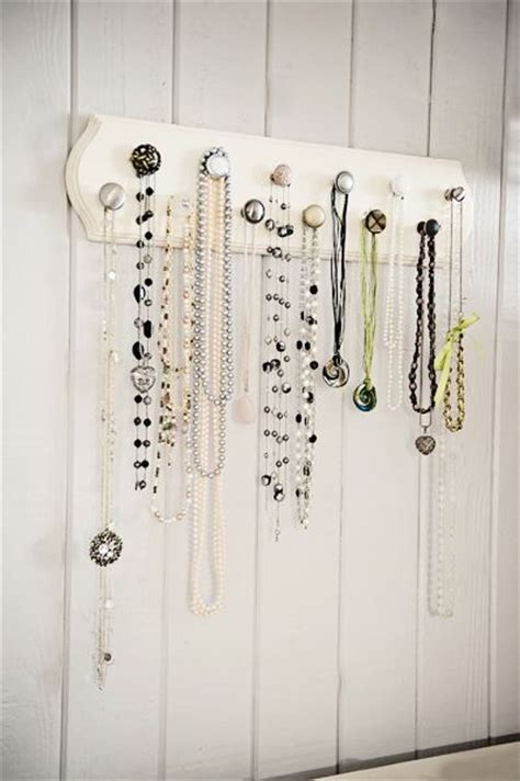 how to make a jewelry hanger 25 best ideas about necklace hanger on