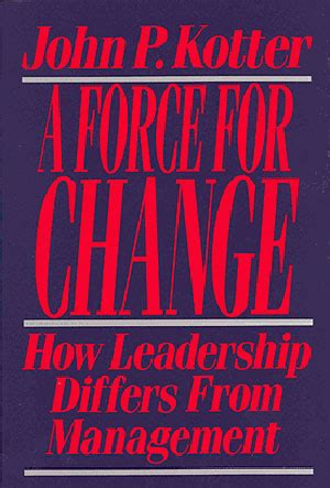 kotter the leadership factor research and perspectives kotter