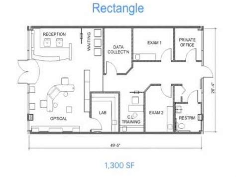 Office Floor Plan Layout by Optical Office Design Secrets 1 Floor Plan Layouts