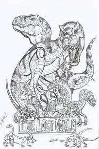 Jurassic Park Raptor Coloring Pages Jurassic Park T Rex Coloring Pages