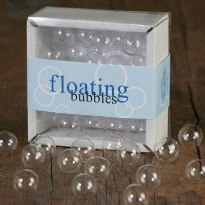 floating clear bubbles table decorations that big day table decorations