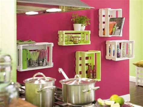 cool things for kitchen upcycling wooden crates cool ideas to decorate your home