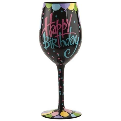 wine glass birthday the gallery for gt birthday wine glass