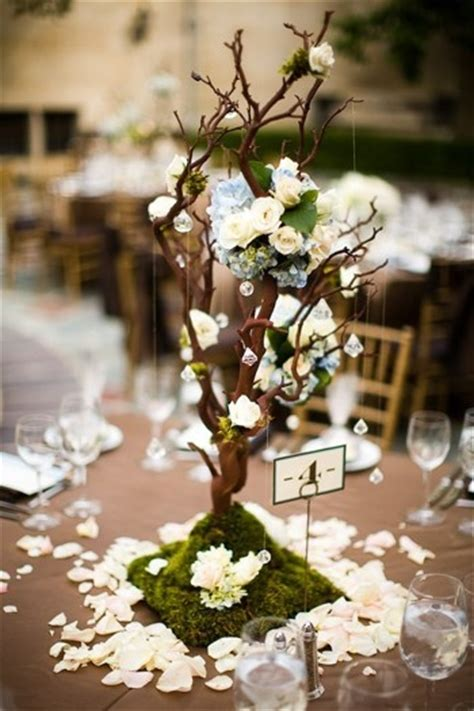 tree wedding centerpieces manzanita wood branches decoration style 55 best wishing tree or tree centerpiece images on