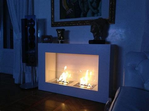 Large Ethanol Fireplace by See Through Fireplace On 100 Inspiring Ideas