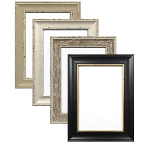 shabby chic photo frame picture poster frames black white