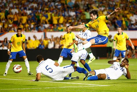 brazil 5 0 honduras international friendly