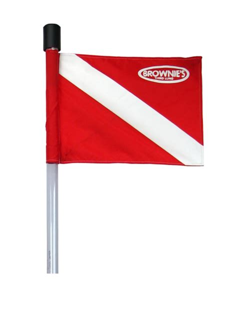 dive flag replacement flag brownies  lung air