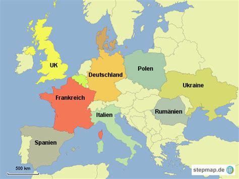 Weltkarte Laender