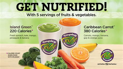 Tropical Cafe Menu Detox Island Green Smoothie by 301 Moved Permanently