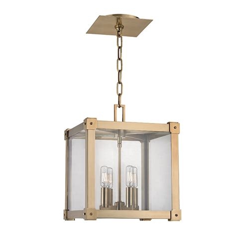 Contemporary Foyer Lighting hudson valley 8612 agb forsyth contemporary aged brass 12 quot wide foyer lighting hud 8612 agb