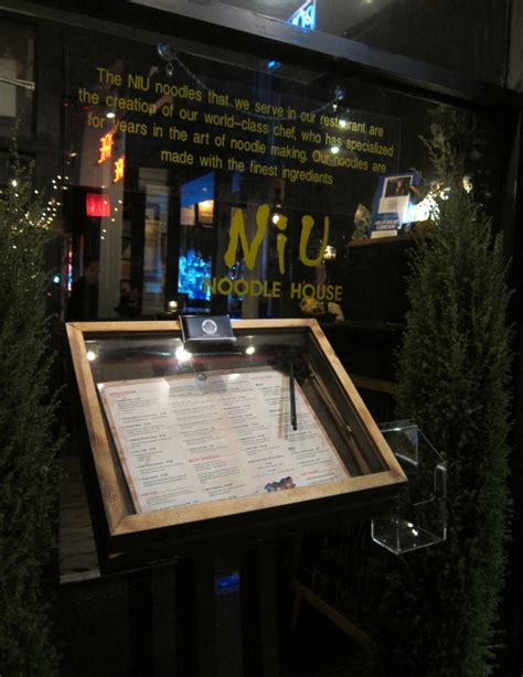 York Noodle House by Restaurant Review Niu Noodle House In New York City