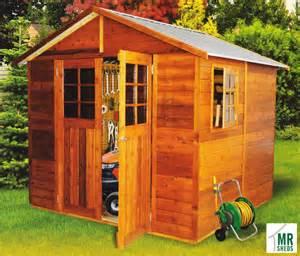 mr sheds stilla cedar shed 2 53 x 2 45 x 2 55m gable