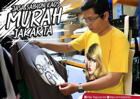 Jasa Cetak Sablon Kaos Jakarta by Ayo Cetak Sablon Kaos Murah Jakarta Kaskus
