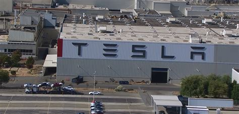 tesla fremont california tesla begins manufacturing modifications on its new
