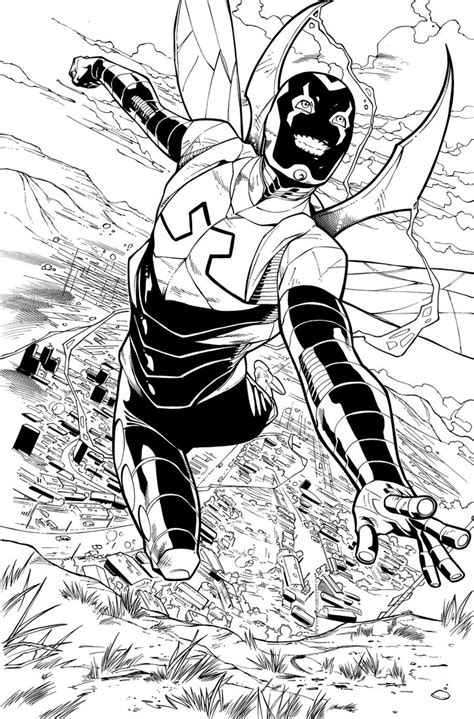 blue beetle 03 page 02 inks by jpmayer on deviantart