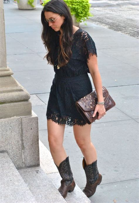 how to wear cowboy boots for the 25 best dresses with cowboy boots ideas on