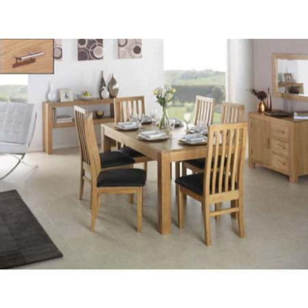 heritage furniture uk laguna oak  piece dining room set