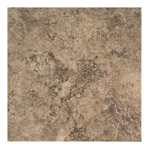 shop american olean 12 in x 12 in chocolate mousse ceramic floor tile at lowes com