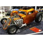 1933 Ford Coupe Hot Rods