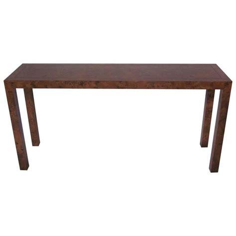 burl wood console widdicomb burl wood console at 1stdibs