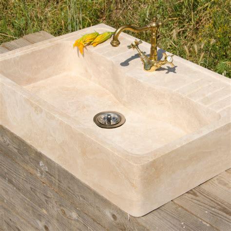 lavello travertino lavello in travertino quot acquaio quot pietre di rapolano