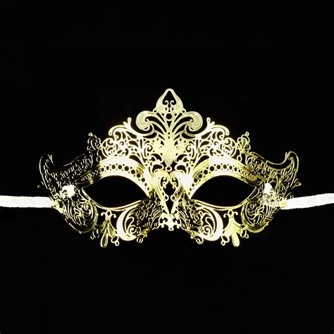 Italian Bathroom Design by Gold Venetian Design Mardi Gras Metal Masquerade Mask