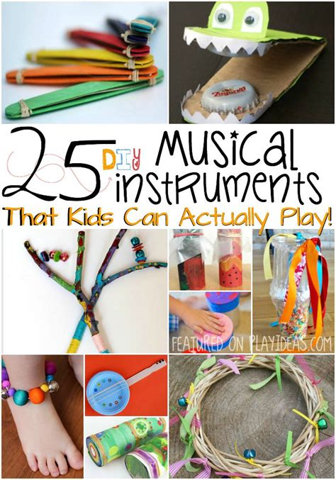 craft ideas for musical instruments 25 diy musical instruments parents band and the