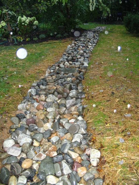 Landscape Rock Drainage Landscaping With Rocks For Drainage 187 Design And Ideas