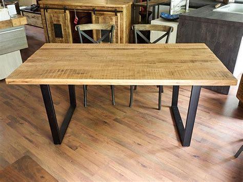 tavoli in legno e ferro tavolo moderno industrial legno e ferro nuovimondi