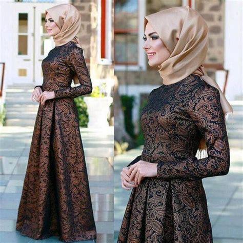 Model Gaun Muslim Terbaru 25 gambar infirasi gaun muslimah cantik dan menarik info kebaya modern