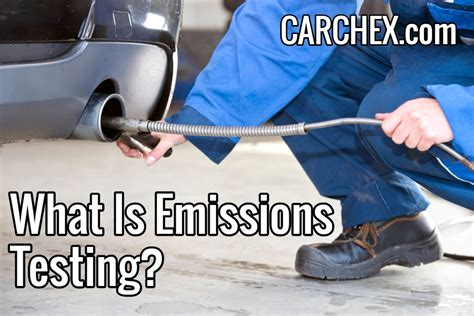 Car Emissions Types by What Is Emissions Testing