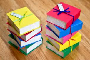 Book Favors by Book Shaped Favor Boxes Set Of 4