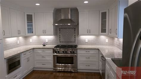 ice white shaker kitchen cabinets ice white shaker wcf