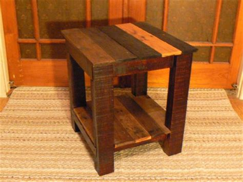 pallet wood end table side table end table from pallets wooden pallet furniture