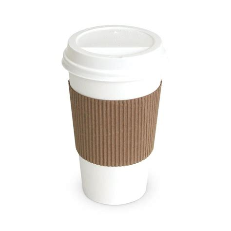 A Paper Cup - coffee jacket coffee sleeve 1200