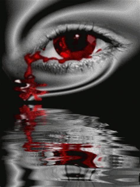 imagenes de ojos que lloran sangre gif ojos con l 225 grimas gifs chicas que lloran