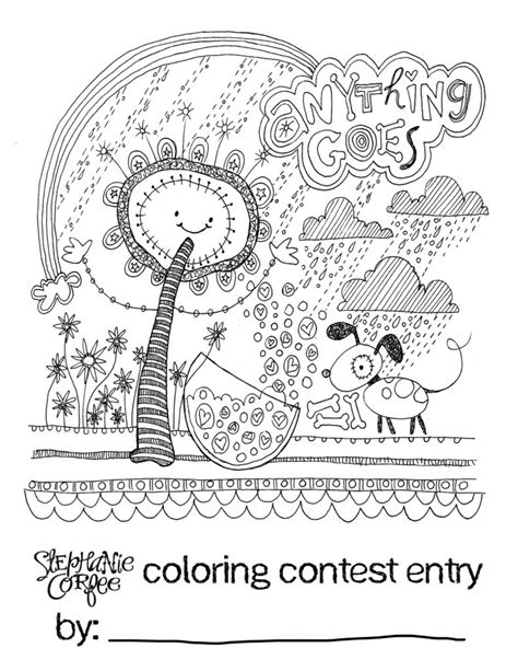 free coloring pages coloring contest for the kiddos