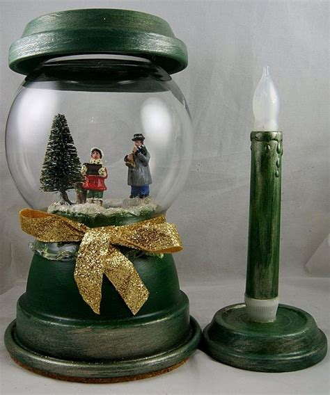 324 best clay pots christmas images on pinterest
